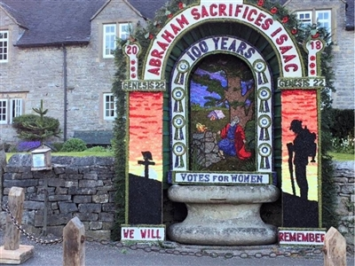 Ashbourne Market & Tissington Well Dressing