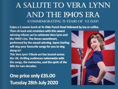 Lunch with Vera Lynn  (Ye Olde Punchbowl Inn)