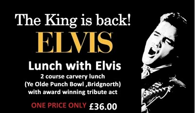 Lunch with Elvis  (Ye Olde Punchbowl Inn)